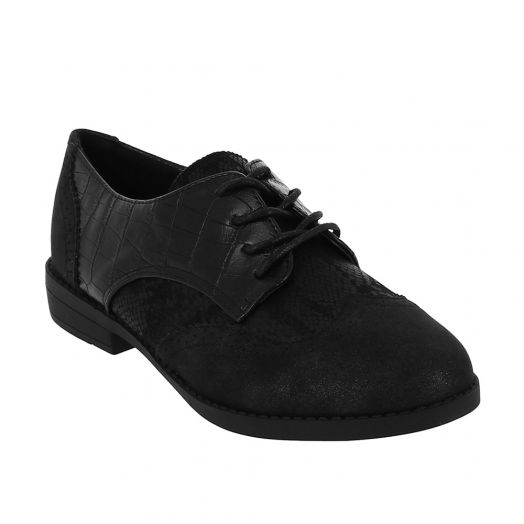 IQSHOES ΓΥΝΑΙΚΕΙΟ CASUAL 18.106.2AS-9415 Μαύρο